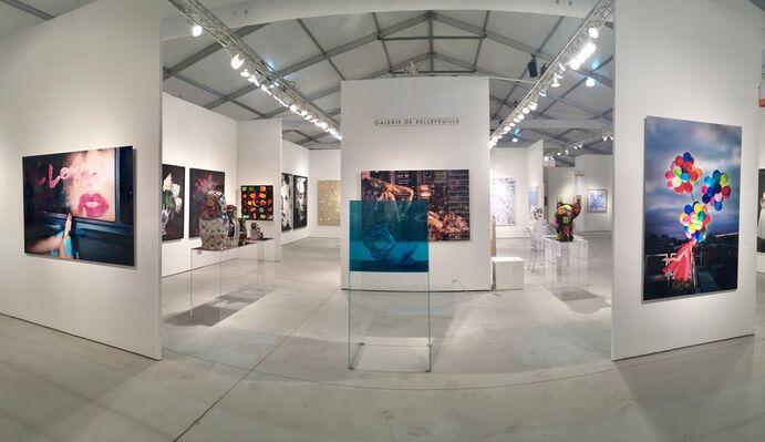 Galerie de Bellefeuille at Art Miami 2018, installation view