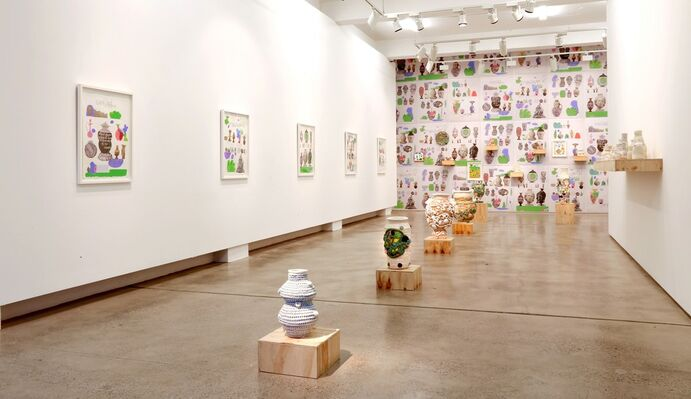 imayimightimust, installation view