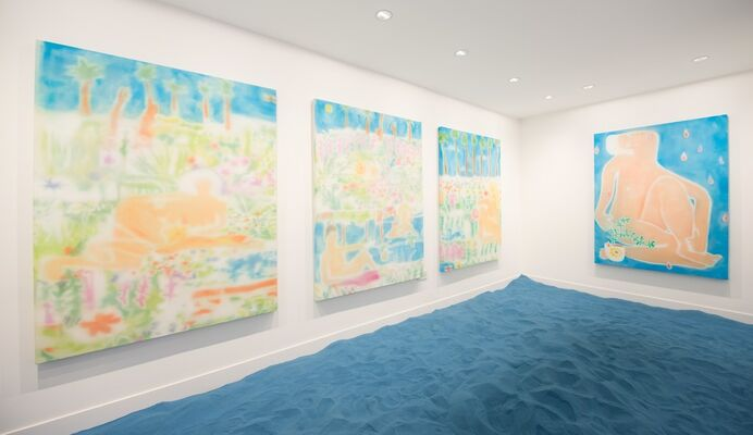'I Found This Supernova In Your Summer House', installation view