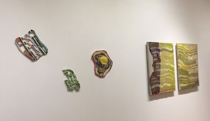 BEYOND THE BRUSH / Winter Group Show, installation view
