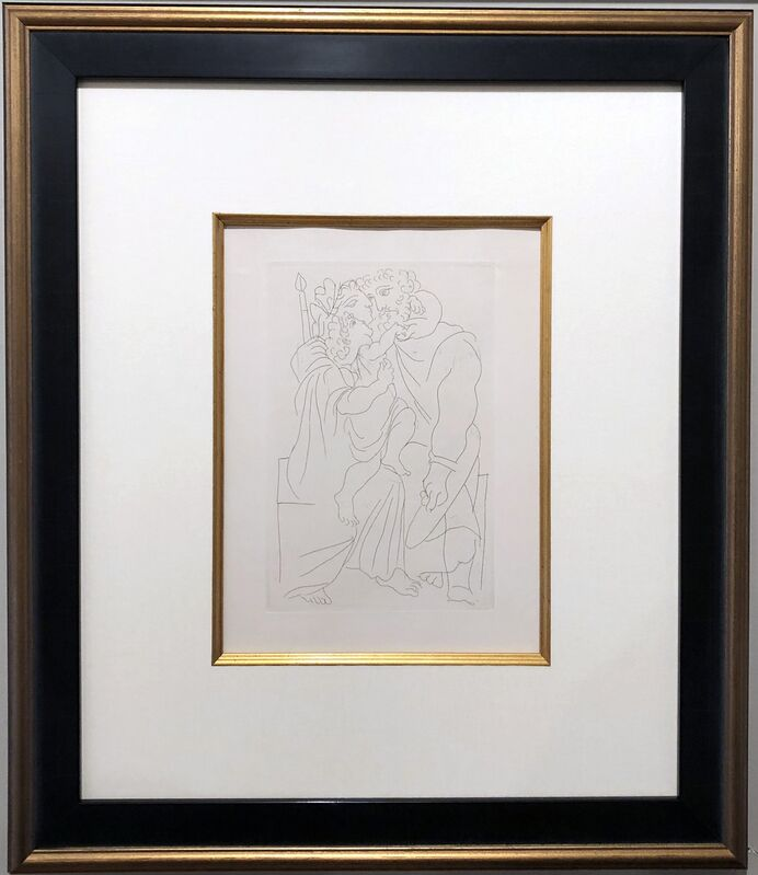 Pablo Picasso, 'Cinesias et Sa Famille', 1934, Print, Etching, Georgetown Frame Shoppe