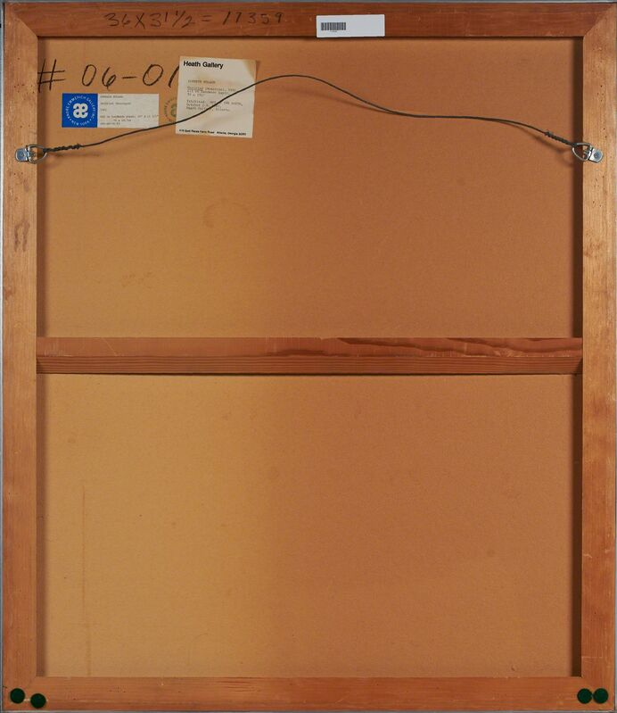Kenneth Noland, 'Untitled', 1981, Print, Monotype in colors on hand-made paper (framed), Rago/Wright/LAMA