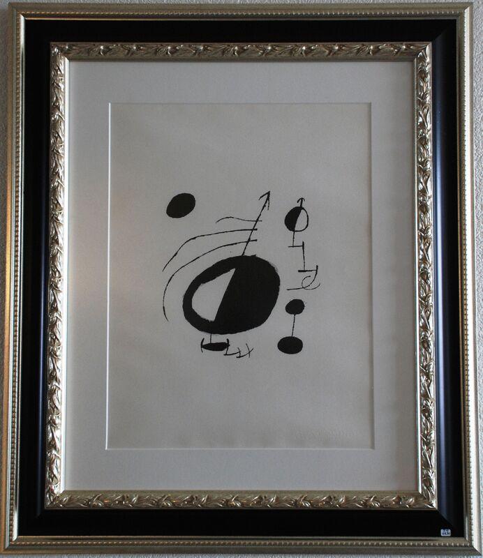 Joan Miró, 'Les Essencies de la Terra', 1968, Print, Original lithograph on Japon nacré paper, Samhart Gallery