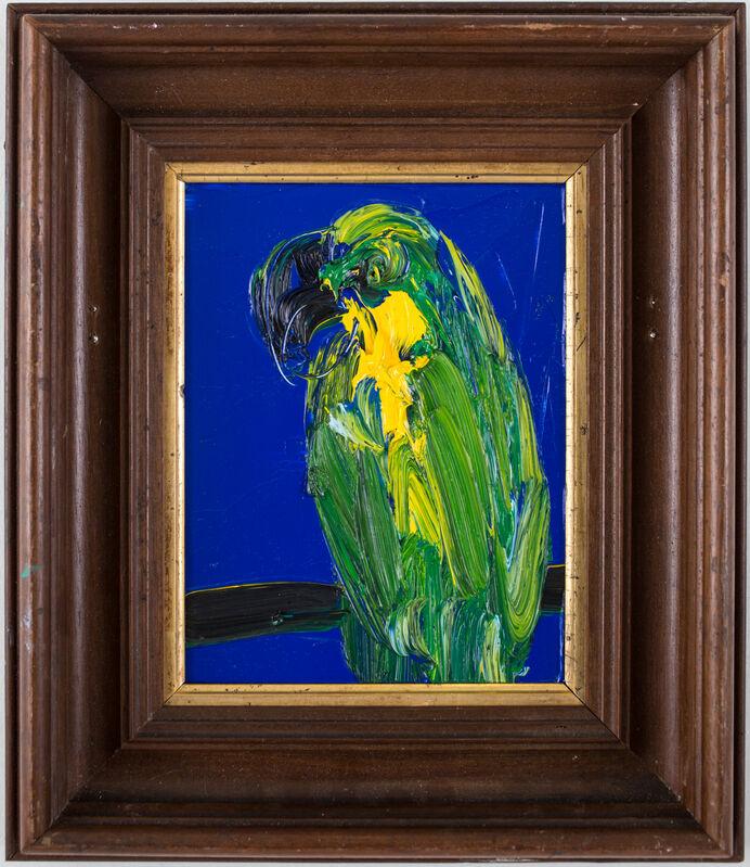 Hunt Slonem, 'Untitled (Bird)', 2017, Painting, Oil on panel, DTR Modern Galleries
