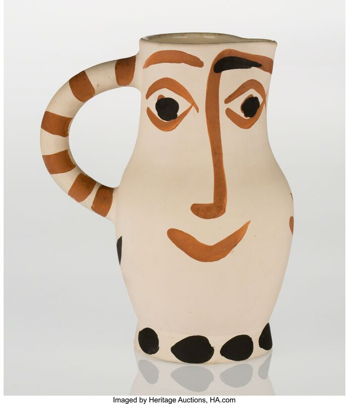 Pablo Picasso, 'Quatre visages (A./R. 437)', 1959, Other, Earthenware ceramic with handpainting, Heritage Auctions