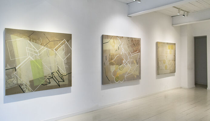 PULSE: Color & Form in a Visual Rhythm, installation view