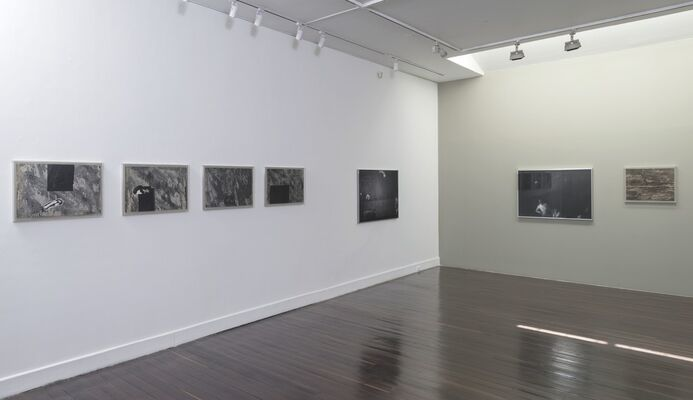Una y otra vez, las tardes suspendidas (1972-1983), installation view