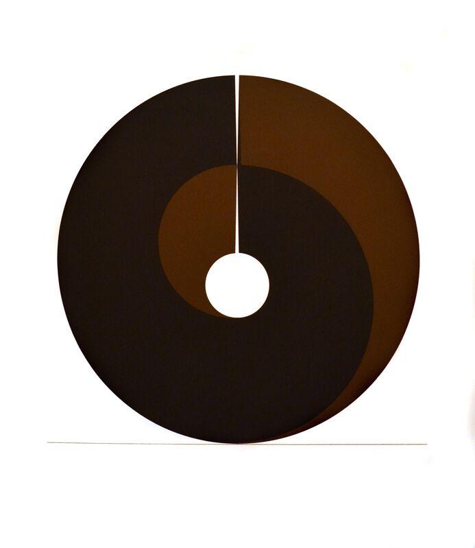 Clement Meadmore, 'Split Ring', 1972, Print, Silkscreen, Josef Albers Printers, Anita Shapolsky Gallery