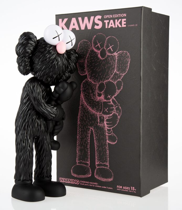 KAWS, 'Take (set of 3)', 2020, Sculpture, Painted cast vinyl, Heritage Auctions