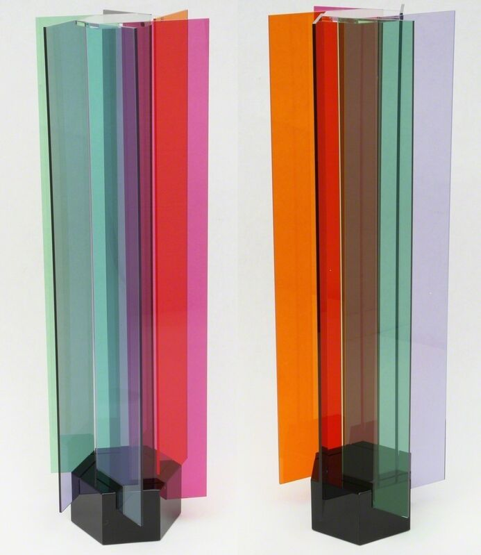 Carlos Cruz-Diez, 'Transchromie a 6 elements', 2010, Sculpture, Plexiglass, Galería RGR