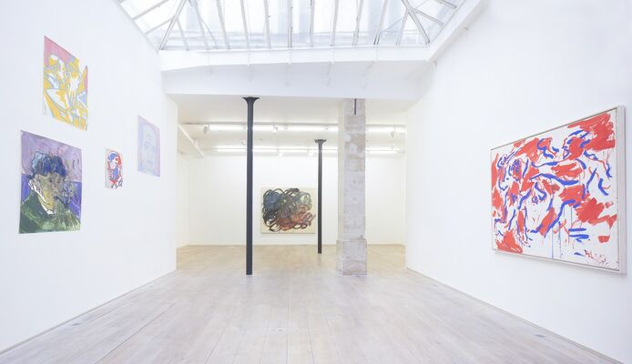 OTTO MUEHL, installation view