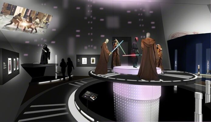 Star Wars™ and the Power of Costume, installation view