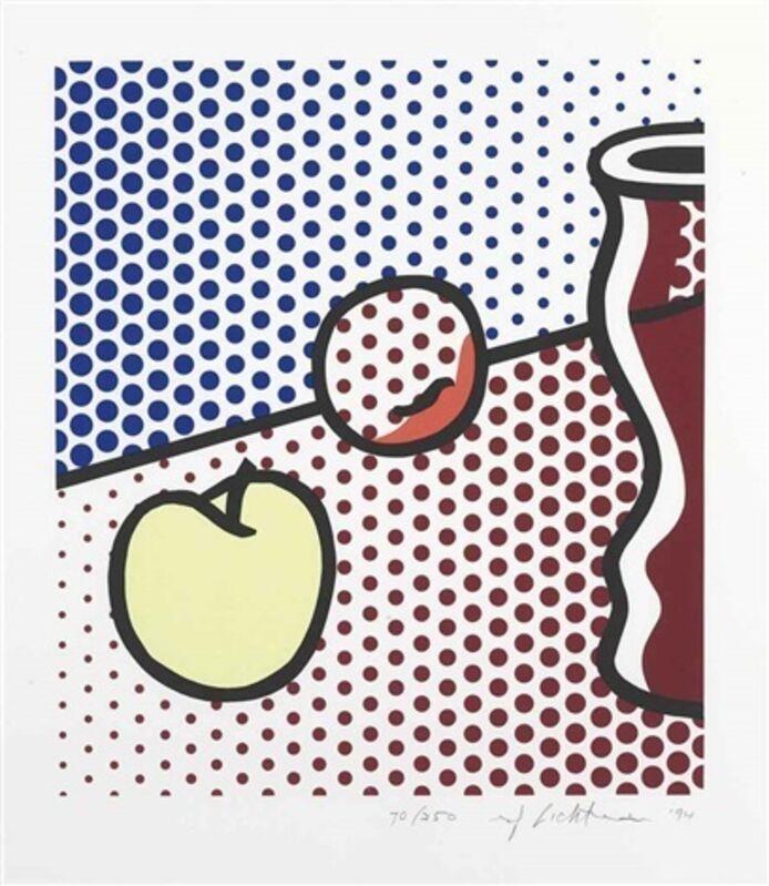 Roy Lichtenstein, 'Still Life with Red Jar', 1994, Print, Color screenprint on paper, Taglialatella Galleries