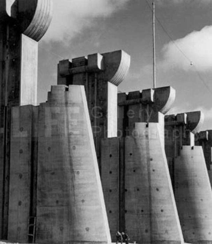 Margaret Bourke-White, 'Fort Peck Dam', 1936, Photography, Silver Gelatin Print, Contessa Gallery