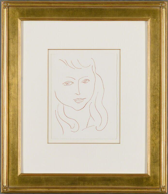Henri Matisse, 'Arc-En-Ciel (Rainbow)', 1946, Print, Original lithograph printed in sanguine on Lana wove paper., Christopher-Clark Fine Art