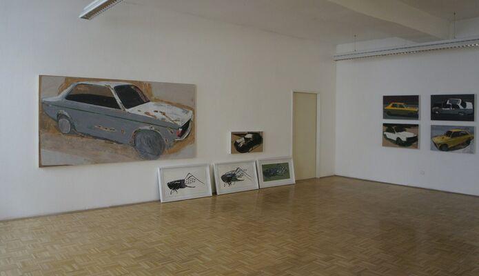 MATKO VEKIC 'movement, horizontal and vertical', installation view