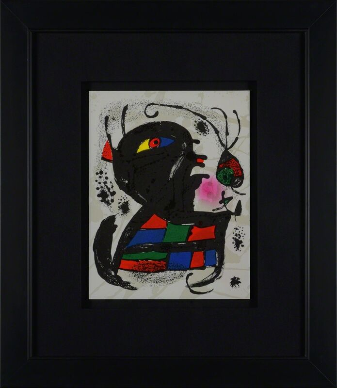 Joan Miró, 'Untitled (Lithographe III, M.1117)', 1977, Print, Lithograph, Martin Lawrence Galleries