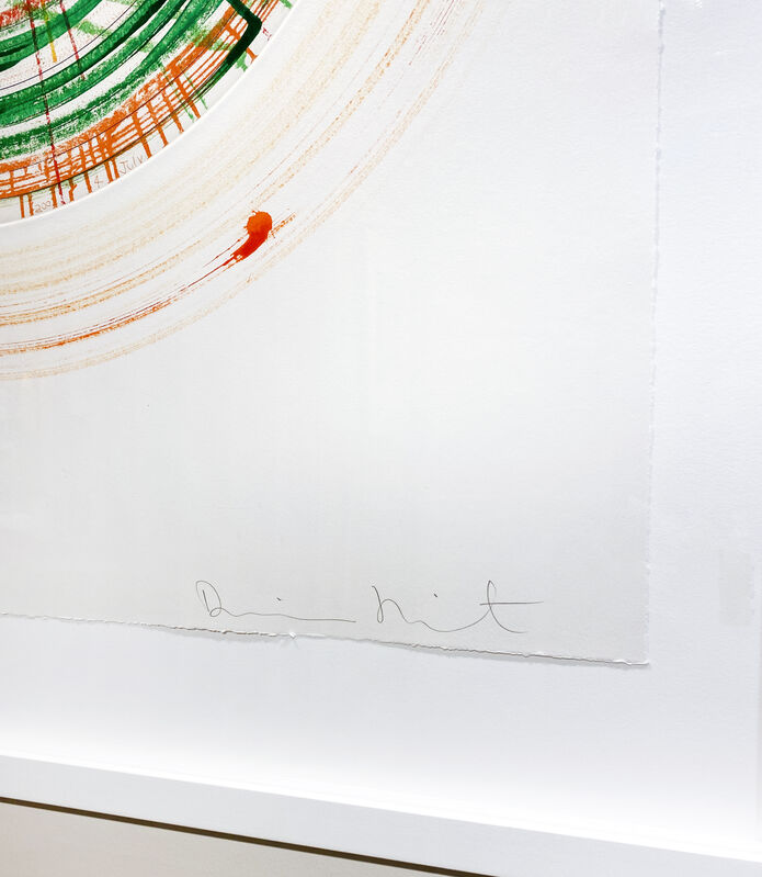 Damien Hirst, 'Liberty', 2002, Mixed Media, Acrylic, crayon, printers inks & pencil on paper. Unique painting on paper, DTR Modern Galleries
