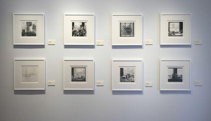 Connie Hayes   Windows, installation view