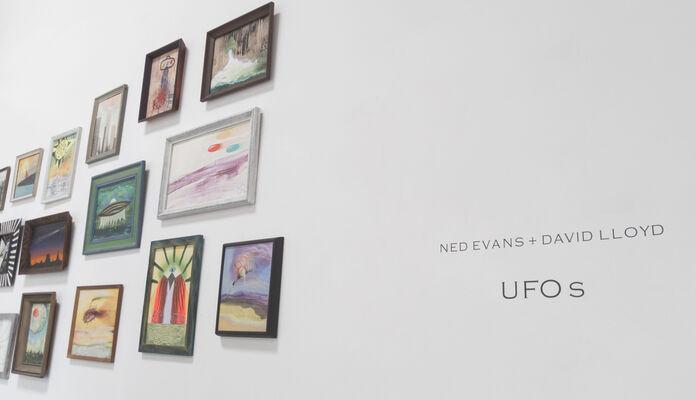 UFOs, installation view