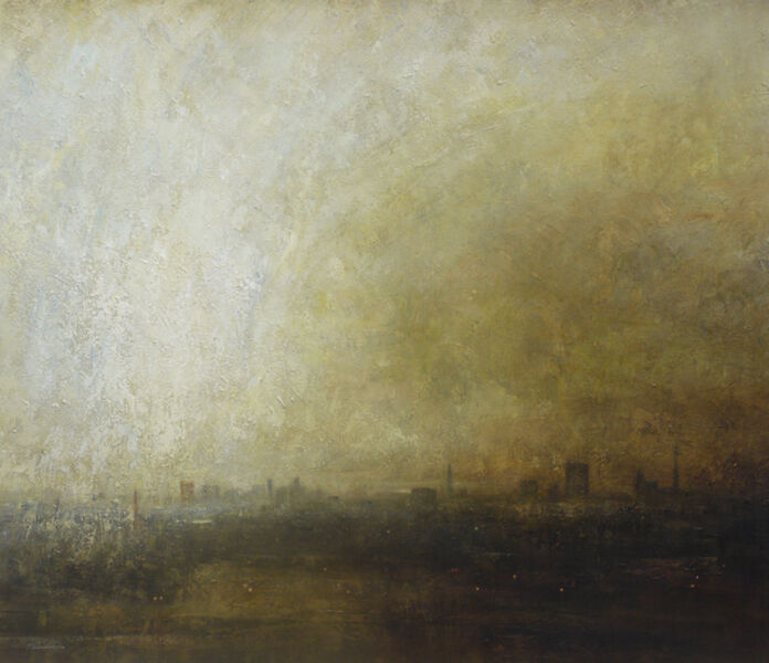 Benjamin Warner, 'Primrose Hill, Towards the City', 2017