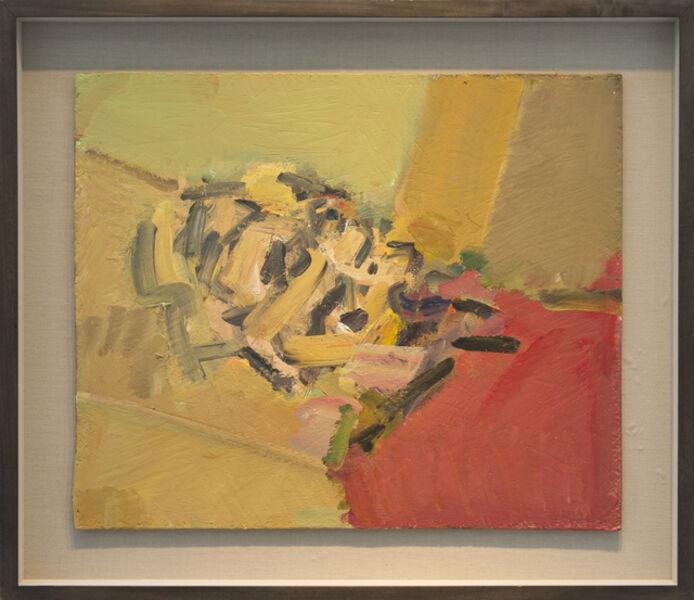 Frank Auerbach, 'Reclining Head of Julia II', 2011