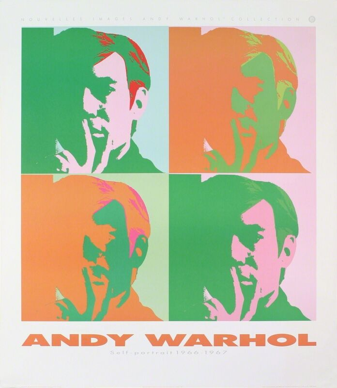 Andy Warhol, 'Four Self Portraits', 1989, Posters, Offset Lithograph, ArtWise