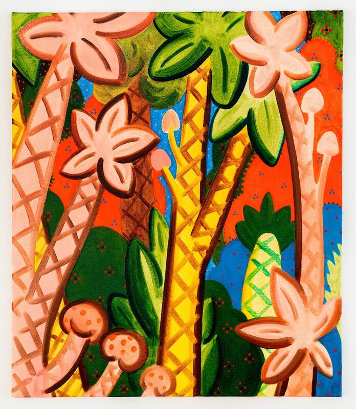 André Ethier, 'Untitled (Pattern Jungle #3)', 2017, Painting, Oil on canvas, Projet Pangée
