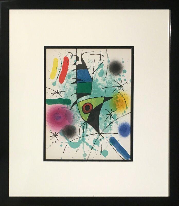 Joan Miró, 'Litografia Original XI', 1972, Reproduction, Lithograph on paper, Baterbys