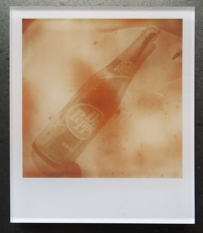 Stefanie Schneider, ''Dr. Pepper'  (Oxana's 30th Birthday)', 2008, Photography, Lambda digital Color Photographs based on a Polaroid, sandwiched in between Plexiglass, Instantdreams