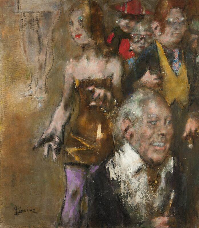 Jack Levine, 'Runway', 1999, Painting, Oil on canvas, ACA Galleries