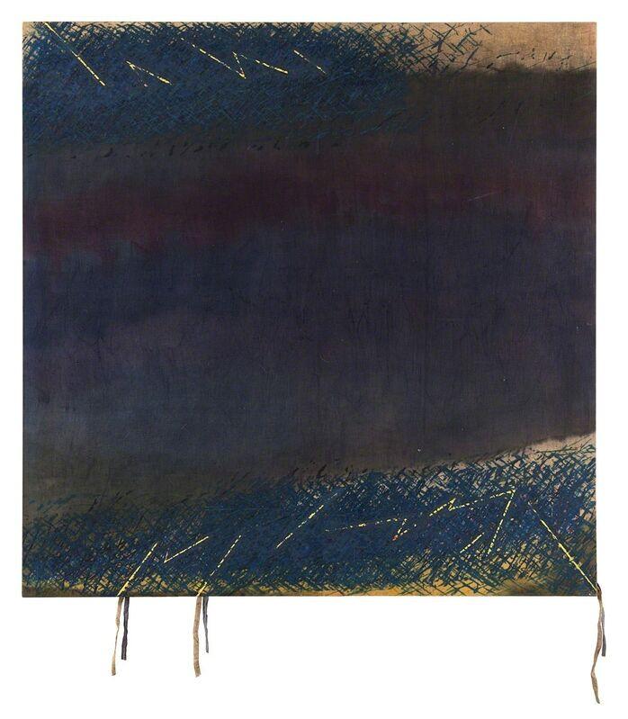 Sandro Martini, 'Dark blue', 1979, Mixed Media, Mixed media on canvas, Finarte