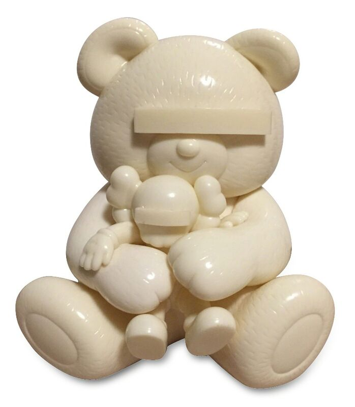 KAWS, 'Undercover Bear (White)', 2009, Sculpture, Cast vinyl, EHC Fine Art Gallery Auction