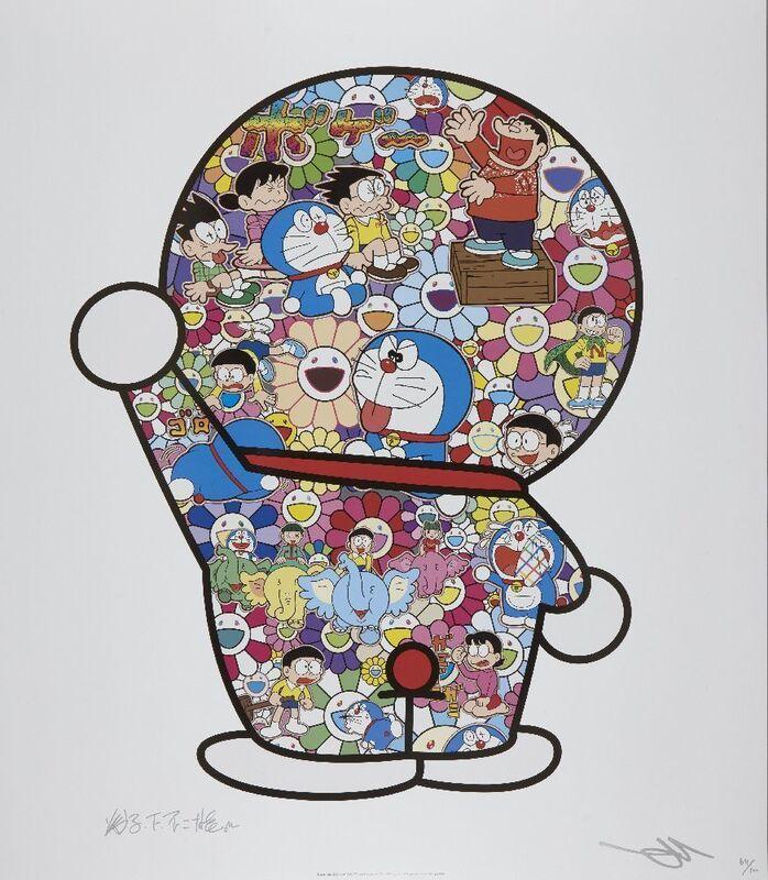 Takashi Murakami, 'Doraemon's Daily Life', 2018, Print, Offset lithograph in colours on satin wove, Roseberys
