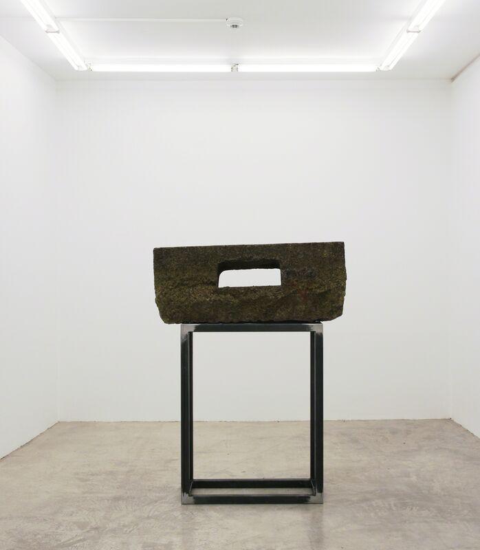 Mandla Reuter, 'Gorge', 2013, Sculpture, Stone, metal, Francesca Minini