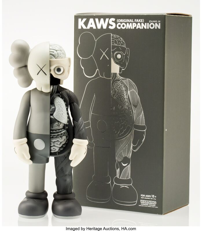 KAWS, 'Dissected Companion (Grey)', 2006, Other, Painted cast vinyl, Heritage Auctions