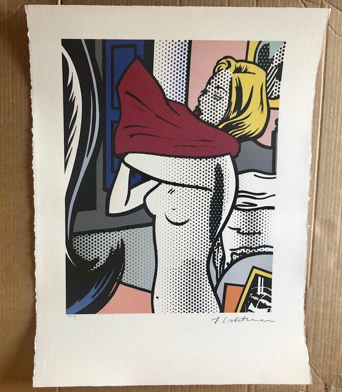 Roy Lichtenstein, 'Nude with Red Shirt', 1994, Print, Serigraph, Leviton Fine Art