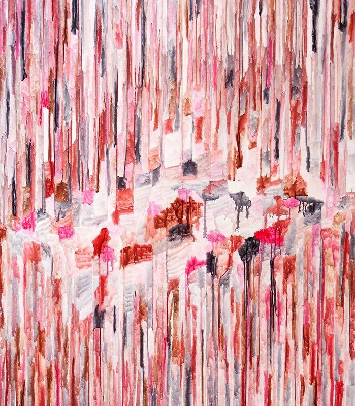 Patricia Reinhart, 'patience III - l'amour', 2015, Painting, Watercolor on linen, sommer.frische.kunst