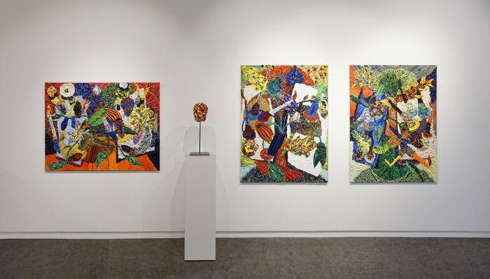 Harry Meyer - livley still lifes, installation view