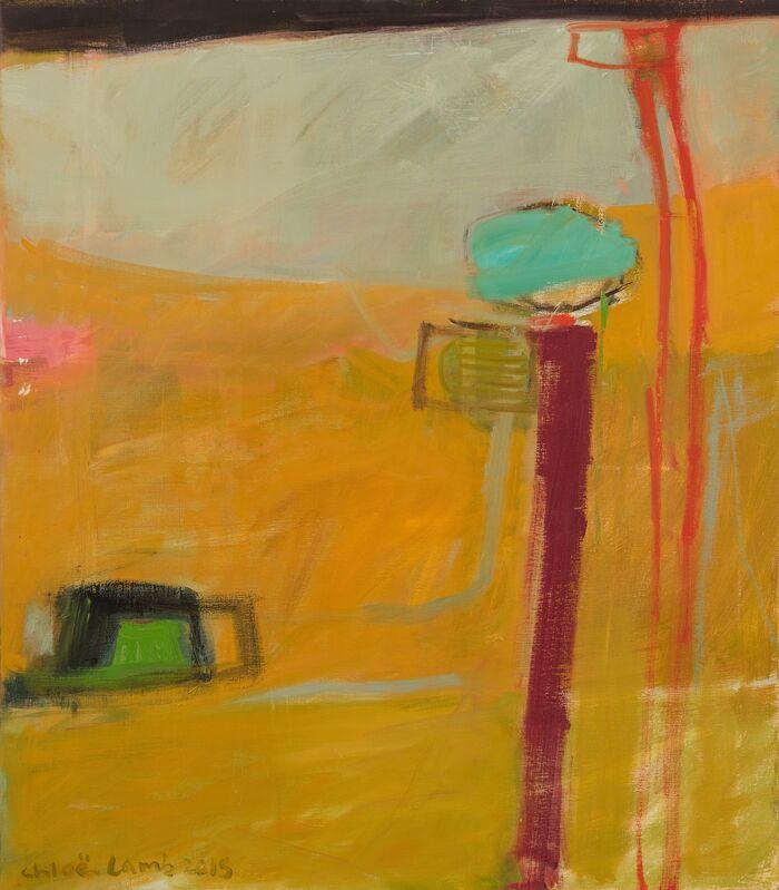 Chloe Lamb, 'Shoreline', 2015, Painting, Oil on canvas, Hollis Taggart
