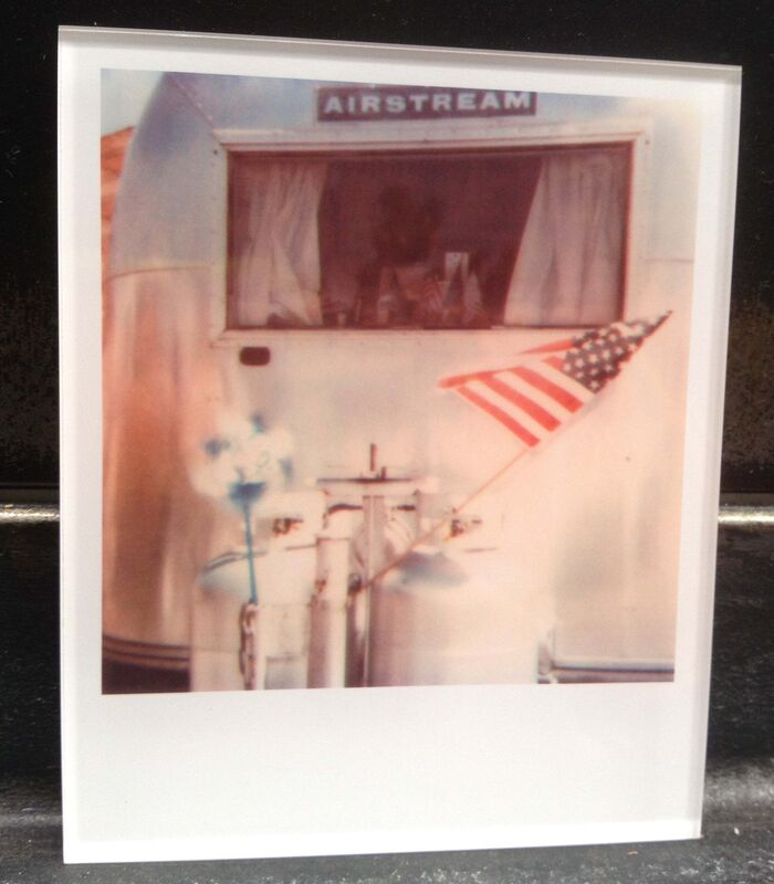 Stefanie Schneider, 'Airstream  (29 Palms, CA)', 1999, Photography, Lambda digital Color Photographs based on a Polaroid, sandwiched in between Plexiglass, Instantdreams
