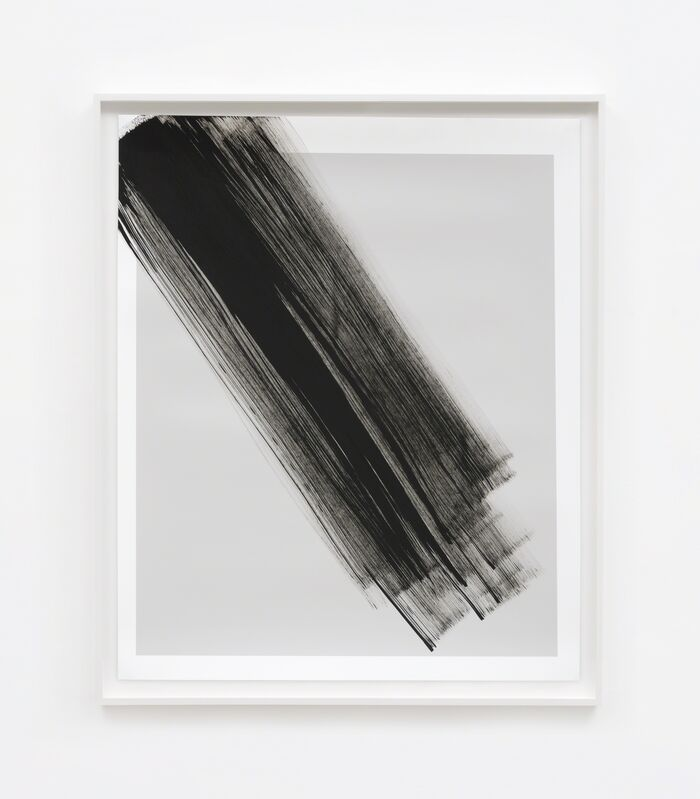 Phil Chang, 'Replacement Ink for Epson Printers (Matte Black on 25% Grey 222603) on Epson Enhanced Matte Paper', 2017, Photography, M+B