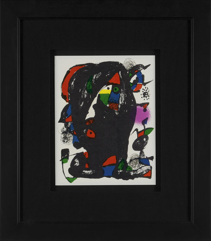 Joan Miró, 'Untitled (Lithographe IV, M.1259)', 1981, Print, Lithograph, Martin Lawrence Galleries