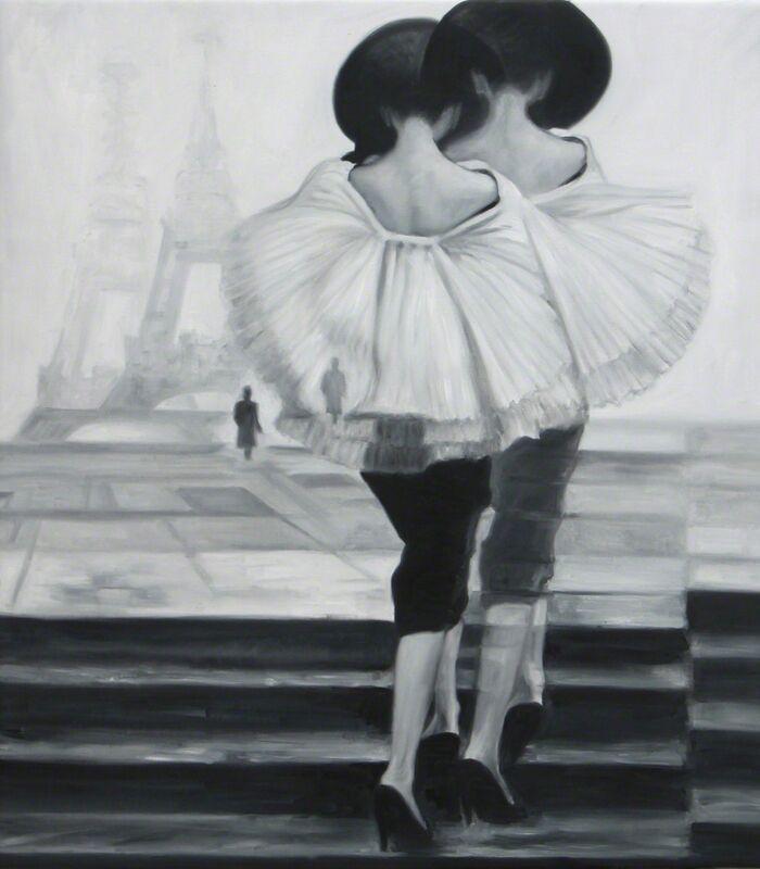 Angel Peychinov, 'Paris', 2018, Painting, Oil on canvas, Galerie Barbara von Stechow