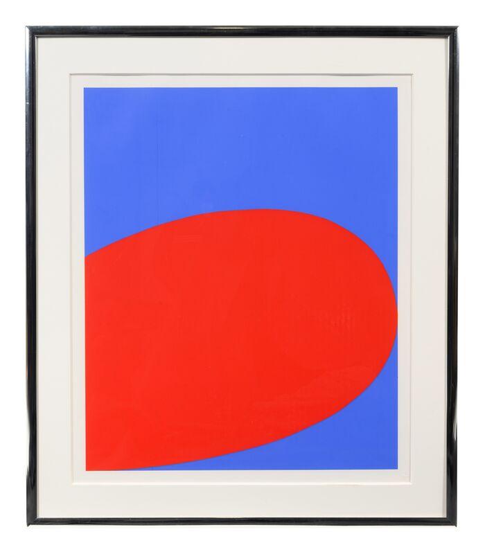 Ellsworth Kelly, 'Red Blue (from Ten Works x Ten Painters)', 1964, Print, Color screenprint, Hindman