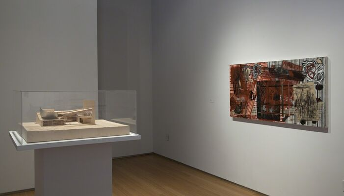 Dialogues, Art And Architecture, installation view
