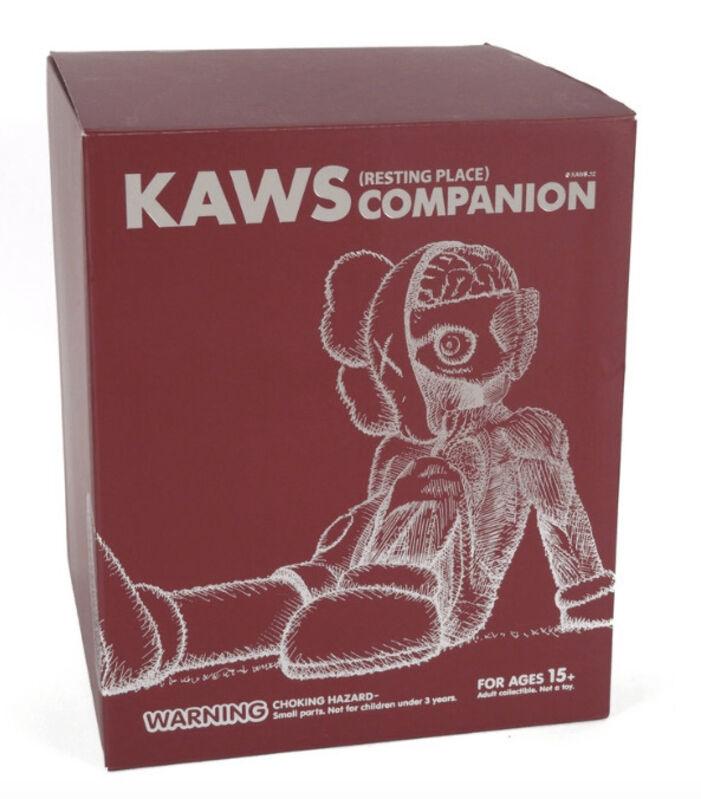 KAWS, 'Resting Place (Brown)', 2012, Sculpture, Vinyl, Dope! Gallery