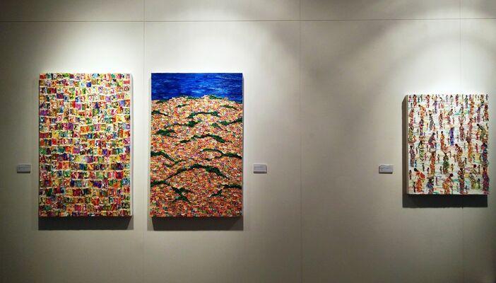 Rewind<<  summer exhibition, installation view