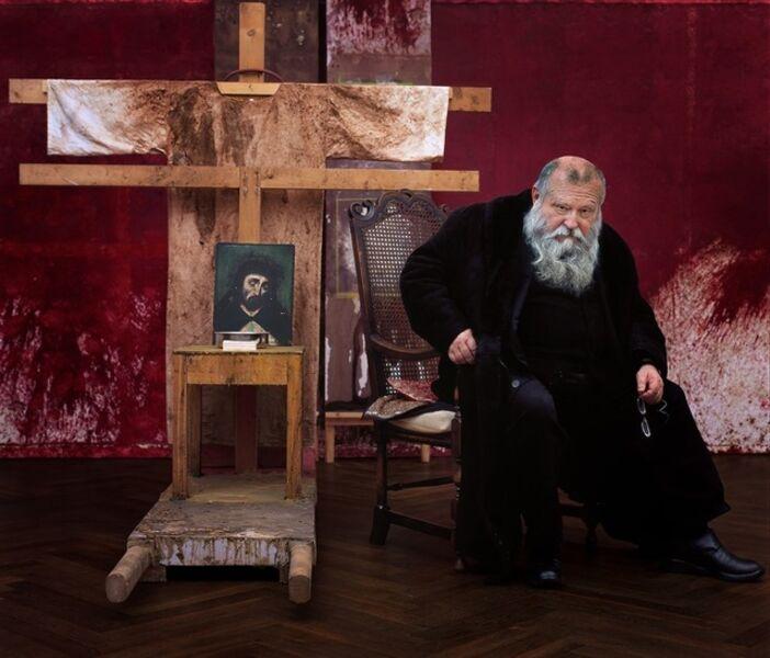 Gérard Rancinan, 'Hermann Nitsch portrait', 2008