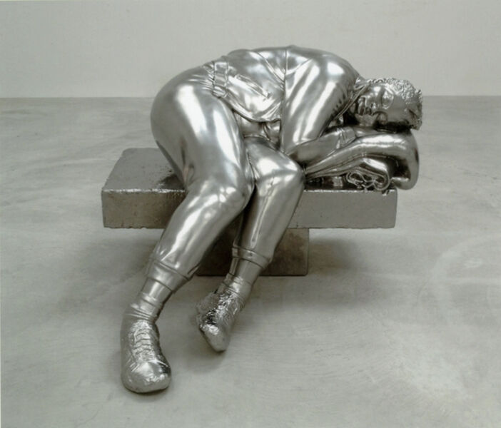 Charles Ray, ' Sleeping woman', 2012